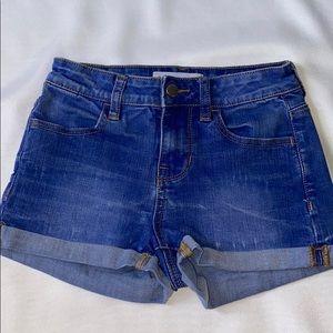 Bullhead Super Stretch Shorty Shorts
